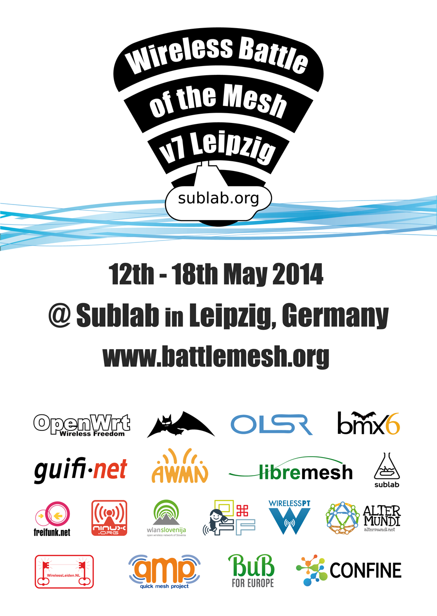 Wireless Battle of the Mesh v7 Leipzig